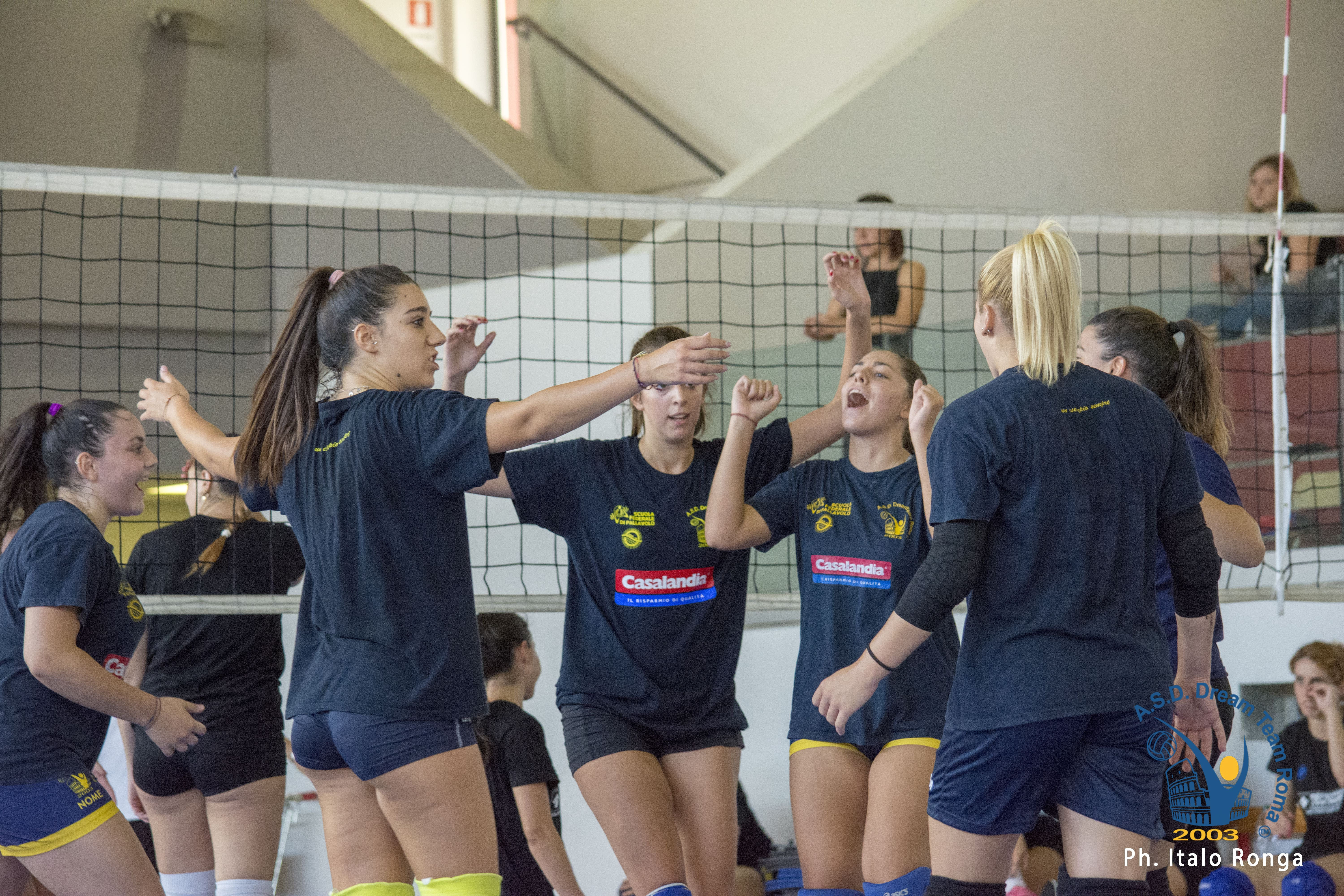 Serie D, due set vinti nel primo test match con ICS Volley