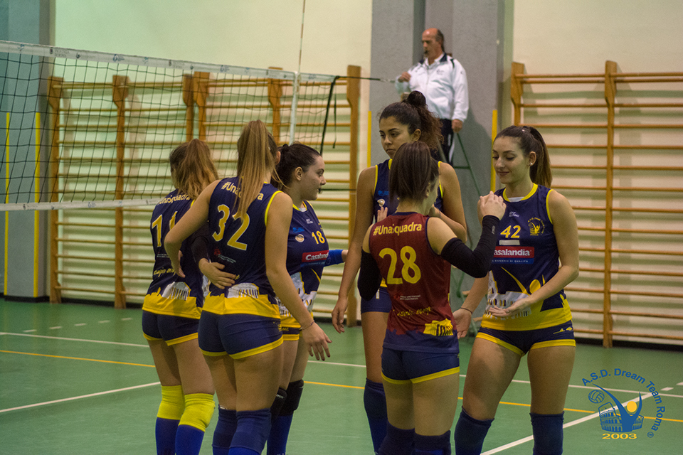 Settore giovanile, la Dream Team Roma leader indiscussa in Under 18